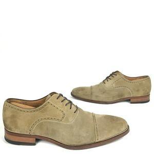 Magnanni Birmingham Brogue Suede Oxford Shoes 11